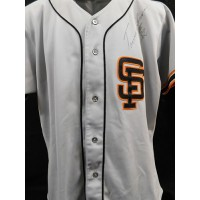 Trevor Wilson San Francisco Giants Signed Game Issued Jersey JSA Authenticated
