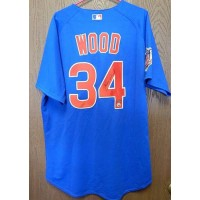 Kerry Wood Signed Chicago Cubs Majestic Authentic Jersey Steiner / MLB Authenticated