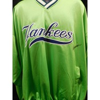 Don Zimmer New York Yankees Signed Pull-Over Jersey JSA Authenticated