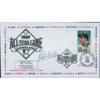 Bob Feller Signed 1989 All Star Game First Day Issue Cachet JSA Authenticated