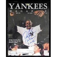 Dwight Gooden New York Yankees Signed Yankees Magazine JSA Authenticated