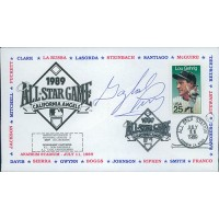 Gaylord Perry Signed 1989 All Star Game Cachet JSA Authenticated
