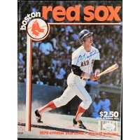 Carl Yastrzemski Boston Red Sox Signed 1979 Official Yearbook JSA Authenticated