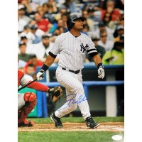 Bobby Abreu New York Yankees Signed 11x14 Matte Photo JSA Authenticated