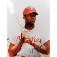 Dick Allen Philadelphia Phillies Signed 11x14 Glossy Photo JSA Authenticated