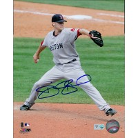 Daniel Bard Boston Red Sox Signed 8x10 Glossy Photo MLB Authenticated