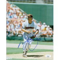 Andy Benes San Diego Padres Signed 8x10 Glossy Photo JSA Authenticated