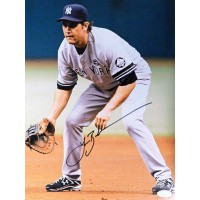 Lance Berkman New York Yankees Signed 11x14 Matte Photo JSA Authenticated