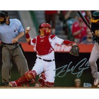 Hank Conger Anaheim Angels Signed 8x10 MLB Glossy Photo MLB Authenticated
