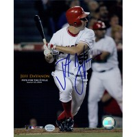 Jeff DaVanon Anaheim Angels Signed 8x10 MLB Glossy Photo Online Authenticated