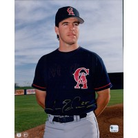 Jim Edmonds California Angels Signed 8x10 MLB Glossy Photo Global Authenticated