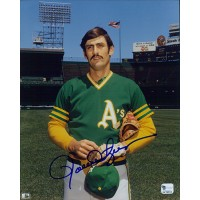 Rollie Fingers Oakland Athletics Signed 8x10 Glossy Photo Global Authenticated