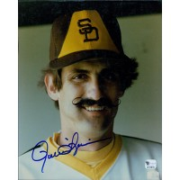 Rollie Fingers San Diego Padres Signed 8x10 Glossy Photo Global Authenticated