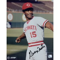George Foster Cincinnati Reds Signed 8x10 MLB Glossy Photo Global Authenticated