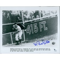 Al Gionfriddo Brooklyn Dodgers Signed 8x10 MLB Glossy Photo Global Authenticated