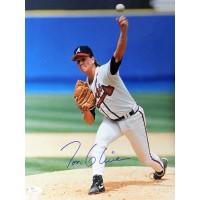Tom Glavine Atlanta Braves Signed 11x14 Glossy Photo JSA Authenticated