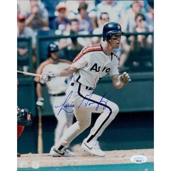 Luis Gonzalez Houston Astros Signed 8x10 Glossy Photo JSA Authenticated