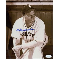 Billy Herman Pittsburgh Pirates Signed 8x10 Glossy Photo JSA Authenticated