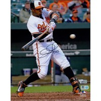 Adam Jones Baltimore Orioles Signed 8x10 Matte Photo MLB Authenticated