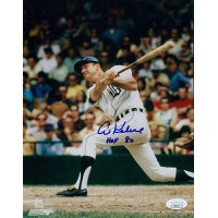 Al Kaline Detroit Tigers Signed 8x10 Glossy Photo JSA Authenticated HOF 80