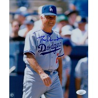 Tommy Lasorda Los Angeles Dodgers Signed 8x10 Glossy Photo JSA Authenticated