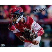 Martin Maldonado Los Angeles Angels Signed 8x10 Matte Photo MLB Authenticated