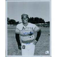 Joe Morgan Houston Astros Signed 8x10 MLB Glossy Photo Global Authenticated