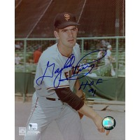 Gaylord Perry San Francisco Giants Signed 8x10 Glossy Photo HOF 91 Global Authenticated