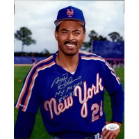 Bill Robinson New York Mets Signed 8x10 Matte Photo JSA Authenticated