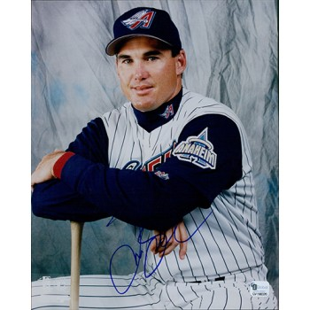 Tim Salmon Anaheim Angels Signed 8x10 Glossy Photo Global Authenticated