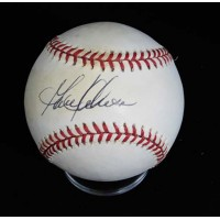 Garret Anderson Signed Official American League Baseball JSA Authenticated