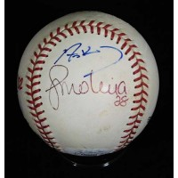 Anaheim Angels World Series Signed Baseball by 4 Players JSA Authenticated