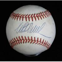 California Angels Philips, Easley, Perez, Davis Signed OAL Baseball JSA Authen