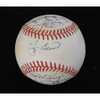 Berra Kiner Fingers Robinson Palmer Snider Signed Baseball JSA Authenticated
