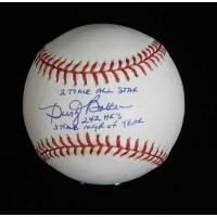 Dusty Baker Signed Official National League Stat Baseball JSA Authenticated