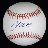 Joe Blanton Signed Major League Baseball In Blue Pen MLB Authenticated