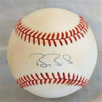 Barry Bond Giants Signed Official National League Baseball JSA Authenticated
