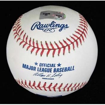 Sean Burnett Signed Major League Baseball In Blue Pen MLB Authenticated