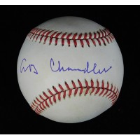 A.B. Happy Chandler Commissioner Signed National League Baseball JSA Authenticated
