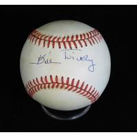 Bill Dickey New York Yankees Signed American League Baseball JSA Authenticated