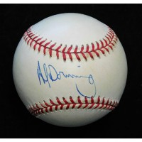 Al Downing Signed Official National League Baseball JSA Authenticated