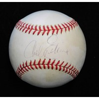 Carl Erskine Signed Official National League Baseball JSA Authenticated