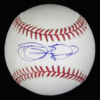 Danny Espinosa Signed Major League Baseball In Blue Pen MLB Authenticated