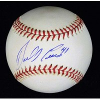 Darrell Evans Signed National League Baseball JSA Authenticated