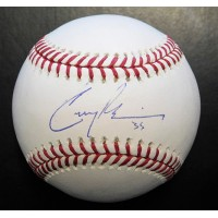 Cory Gearrin Signed Major League Baseball In Blue Pen JSA Authenticated