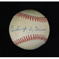Burleigh Grimes Pirates Signed National League Baseball JSA Authenticated