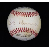 Baseball Hall of Famers and Stars Signed American League BB JSA Authenticated