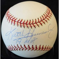 Keith Hernandez 79 MVP Signed National League Baseball TriStar Authentic