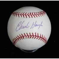 Charlie Hough Signed Official Major League Baseball JSA Authenticated