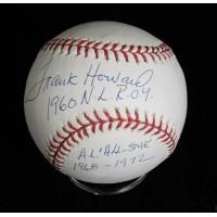 Frank Howard Signed Official Major League Baseball JSA Authenticated